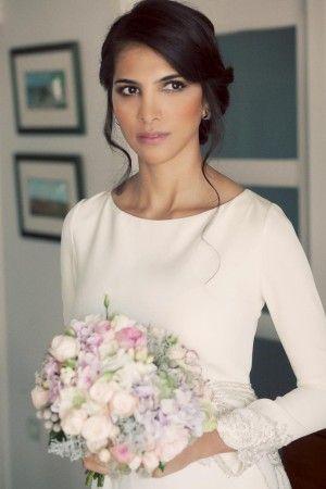 Look beauty. Maquillaje elegante y natural para el día de tu boda.