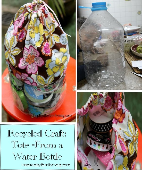 1000 ideas about water bottle art on pinterest water for Water bottle recycling ideas