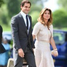 Roger Federer and hi wife Mirka are amongst the guests of the Wedding party | Pippa Middleton's wedding to James Matthews in pictures: All the celebrities & royal guests including Kate Middleton & Roger Federer - News