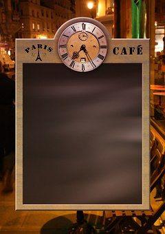 Меню, Доска, Blackboard, Часы