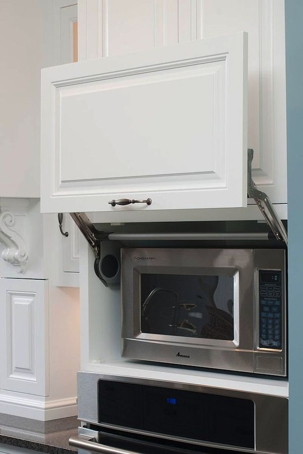 Exceptional Want Your Kitchen To Look Luxurious? Keep It Streamlined With Hidden  Cabinets.
