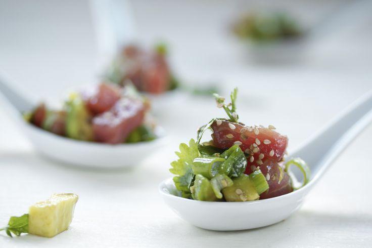 Une recette fraiche et pauvre en cholestérol : la Salade de thon cru