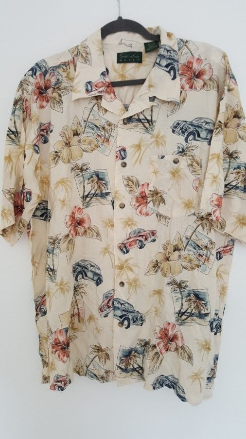 Hawaiian Shirt Size XLarge Hawaiian Set of 2 Short Sleeve Casual Tiki Aloha #ScandiaWoods #Hawaiian