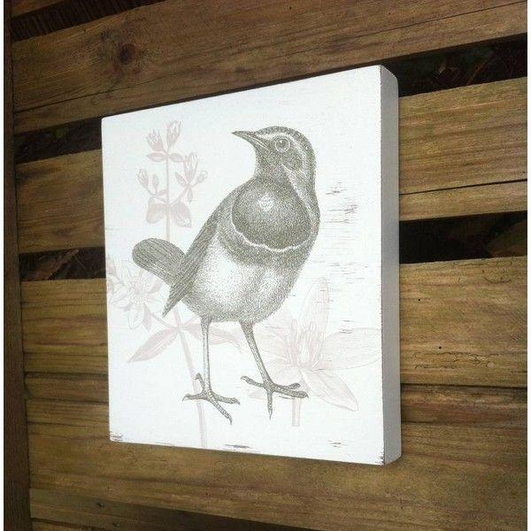 1000 Ideas About Bird Wall Art On Pinterest: Redpaperstar Birdy Wall Art ($29) Liked On Polyvore