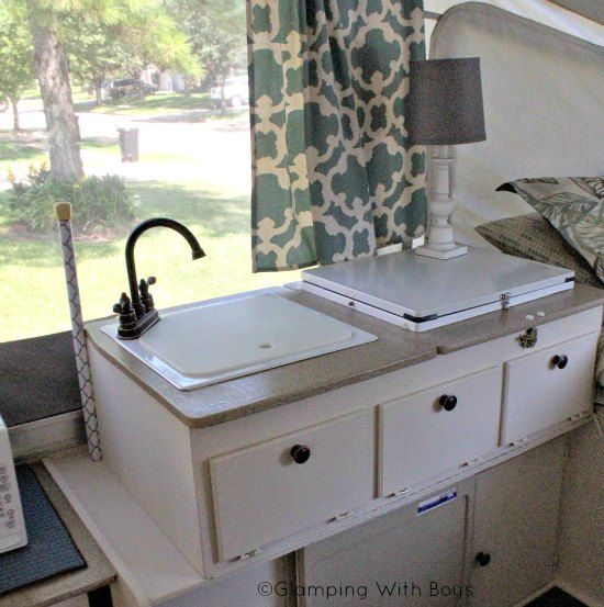 Ramie S Pop Up Camper Makeover Faucets Colors And
