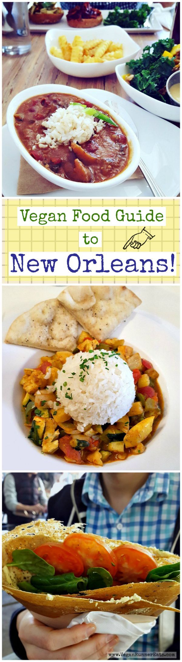 Vegan food and restaurant guide to New Orleans