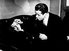 """The Maltese Falcon"" Peter Lorre and Humphrey Bogart 1941 Warner Bros."