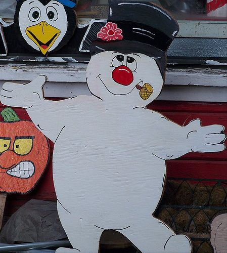 frosty the snowman christmas yard art decorations
