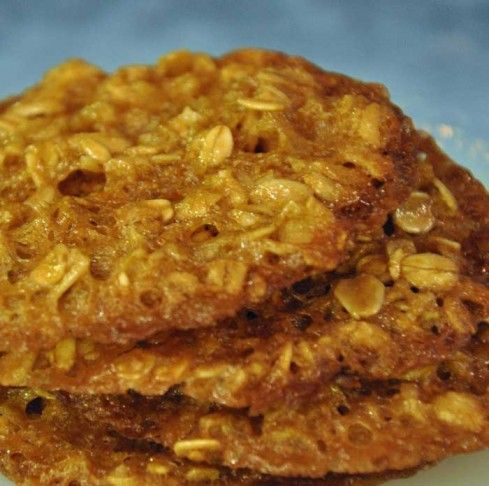 Weight Watchers Oatmeal Pecan Lace Cookies