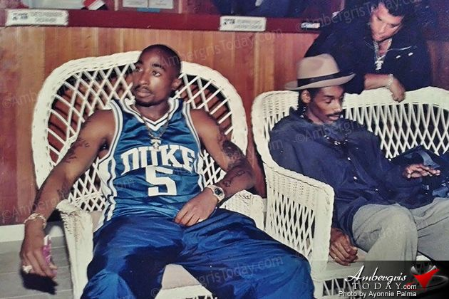 AmbergrisToday.com   Tupac, Snoop Dogg, and Mc Hammer and Suge Knight Visited San Pedro, Ambergris Caye, Belize