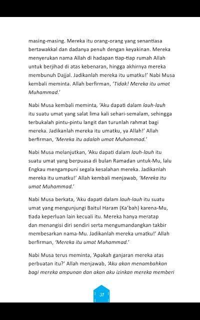 Keutamaan umat nabi muhammad part  2 #Muslim. #islam