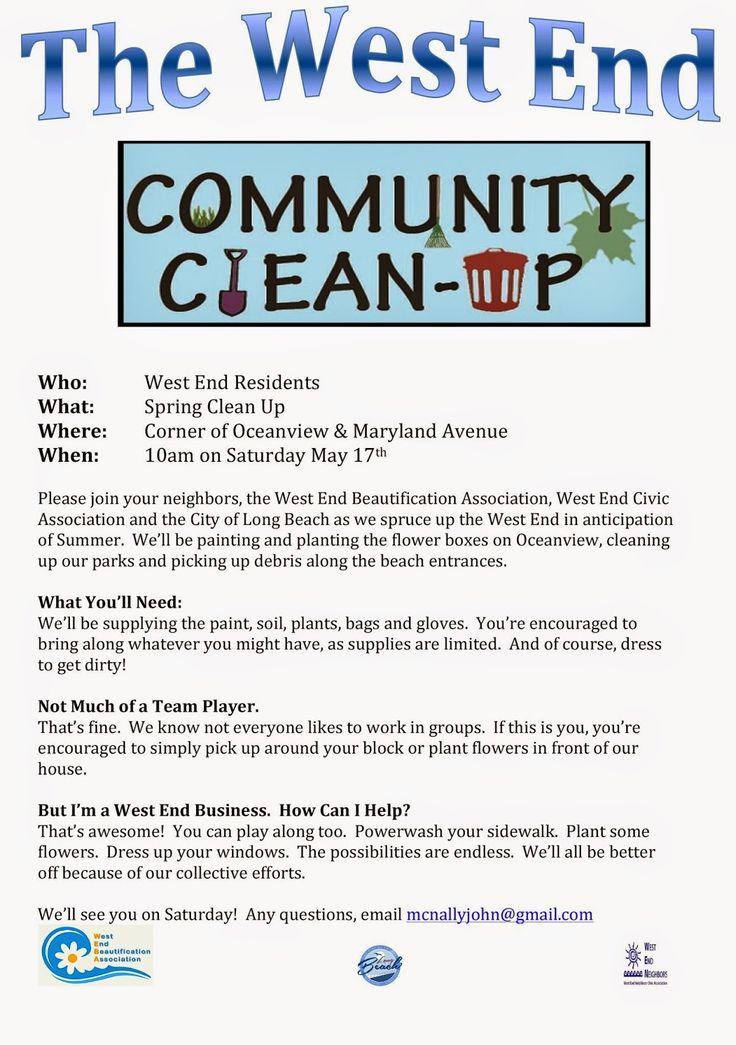 13 best Neighborhood clean-up day images on Pinterest Toolbox - house cleaning flyer template