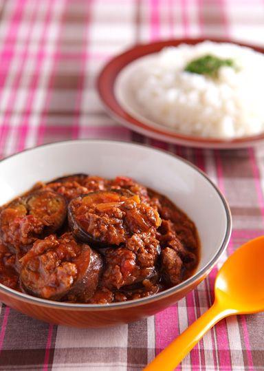 なすと挽肉のカレー のレシピ・作り方 │ABCクッキングスタジオのレシピ | 料理教室・スクールならABCクッキングスタジオ