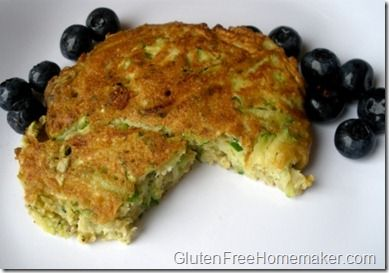 zucchini cakes - might be cool to try