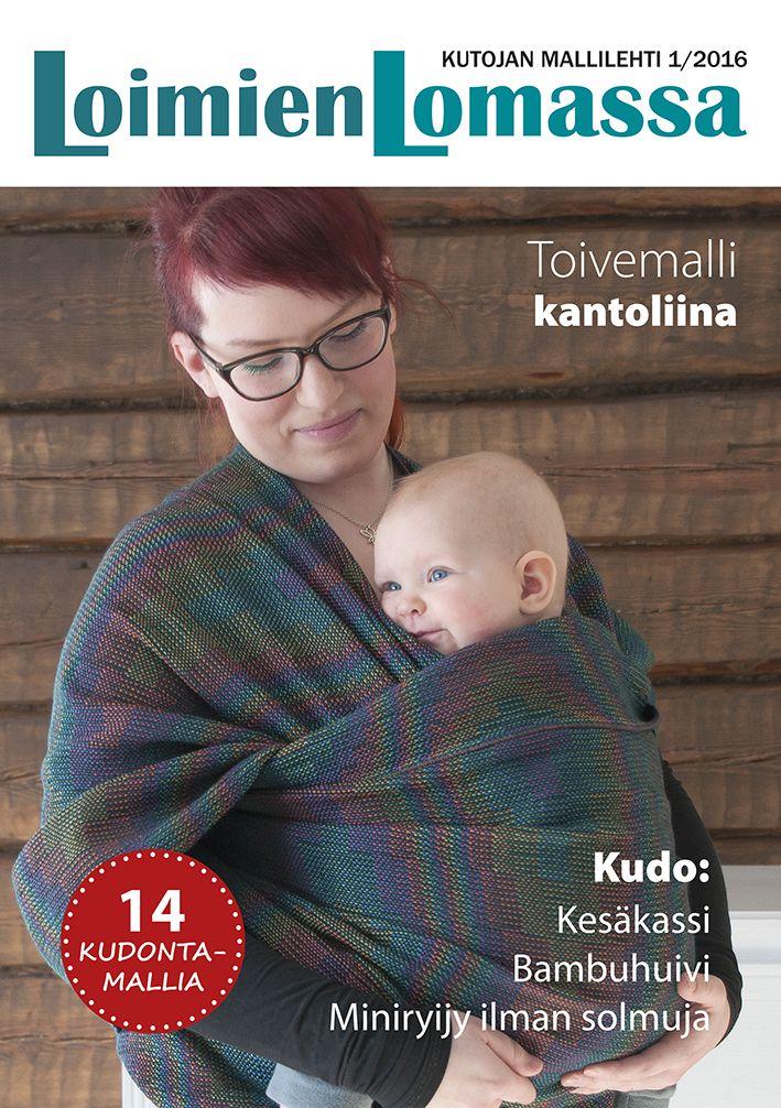 1/2016 LoimienLomassa -lehdessä on muunmuassa malli paljon toivottuun kantoliinaan! Lehden voit ostaa osoitteesta: http://kauppa.toika.com/category/63/loimien-lomassa--lehti