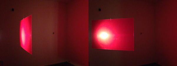 'turning red'  Lichtinstallatie van Lola Bezemer coderood.co 29 nov 2014