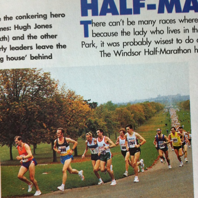 Runner's World. Windsor Half Marathon. 1994.