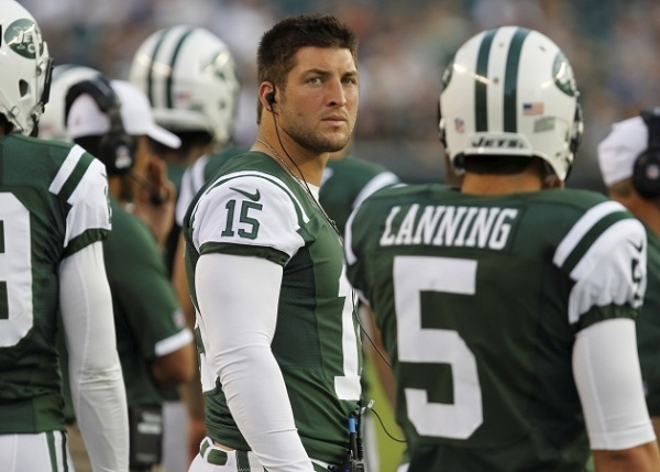 """""""Tim Tebow News Update: Jets Want to Trade Popular Quarterback, Hopeful for 'Mid-to-Late Round Draft Pick'"""" Latinos Post (February 4, 2013)"""