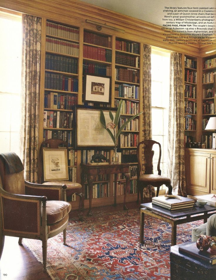 The September Issue Of Elle Decor Is On Newsstands Now, And While Everyone  Seems To. Library BooksThe HouseBookcase ...