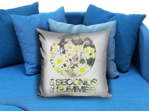 5SOS Daisies Pillow Case #pillow #case #pillowcase #custompillow #custom