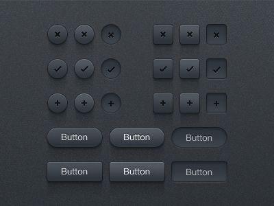 Button UI Kit by Matt Gentile