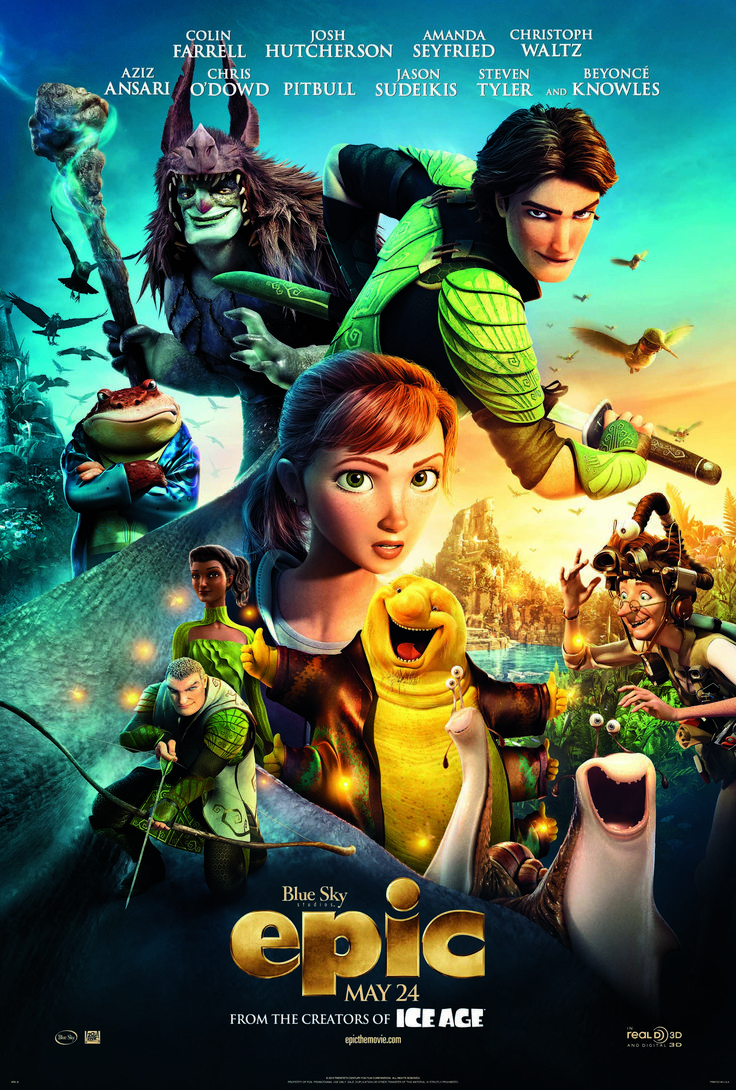 WIN 1 of 3 Double Movies Passes to see the EPIC family Movie in TORONTO - Ends May 10! From my SnyMed blog! Enter: http://www.snymed.blogspot.ca/2013/05/epic-movie-coming-may-24th-contest.html