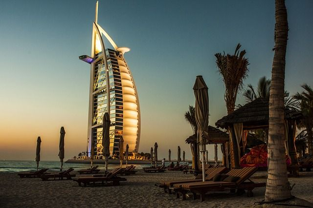 Hôtel Burj-Al-Arab, Dubaï - #ÉmiratsArabesUnis #Dubaï #Hotel
