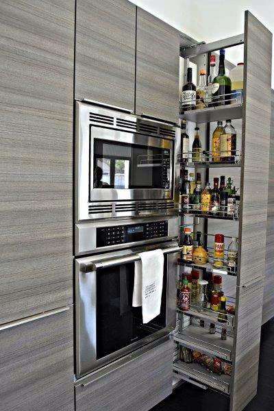 Custom Poggenpohl kitchen designed by Cheryl Carpenter