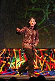 Ross Markham Noble[4] (born 5 June 1976 in Newcastle upon Tyne) is an English stand-up comedian from Cramlington, Northumberland
