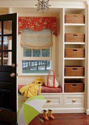 1000 ideas about bathroom window curtains on pinterest for Mud room addition ideas