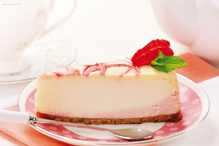 New-York Cheesecake with Strawberries  Life-affirming energy of summer and the most popular flavor of cheesecake all over the world is a very good combination! New-York Cheesecake with strawberries this is the case when the light acidity gives more charm to a gentle and sweet cream cheese.
