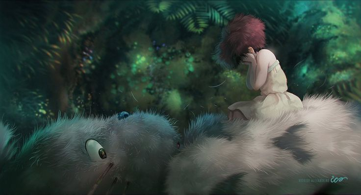 Totoro and Satsuki