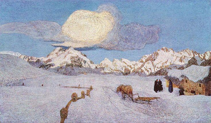 Segantini - Alpentriptychon 3: Vergehen