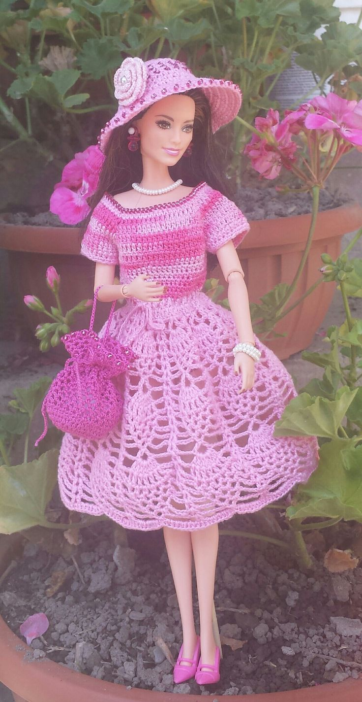 2149 best images about barbie world on pinterest crochet barbie dress bankloansurffo Image collections