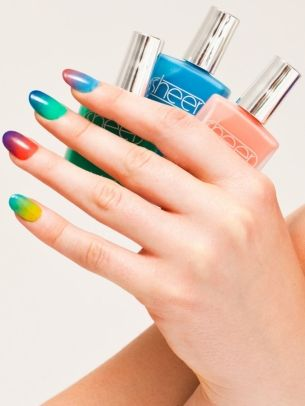 American Apparel Sheer Nail Polish Summer 2012 Collection
