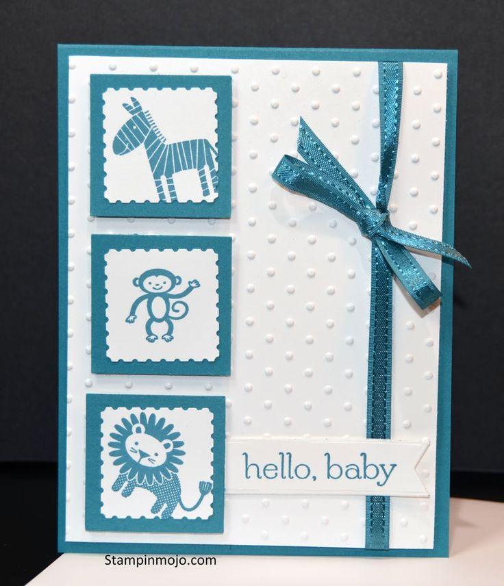 Zoo Babies, Stampinmojo.com