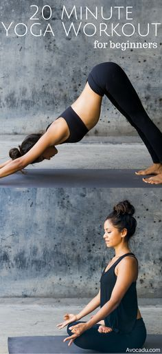 This 20 minute yoga workout for beginners will give you the inspiration you need to make yoga a regular part of your fitness routine! Yoga has so many benefits for the body & mind.