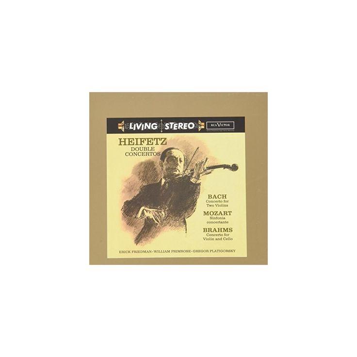 Jascha Heifetz - Double Concertos: Bach, Mozart, Brahms (CD)