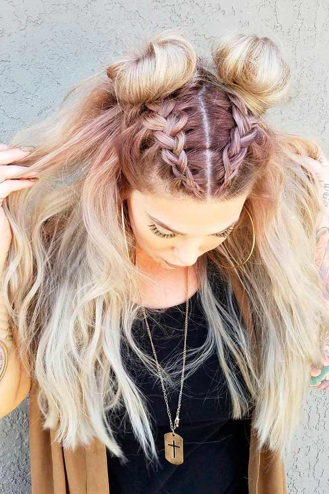 top knot hair style best 25 braided top knots ideas on knot 5643 | 11b0dcb09acee77734faff639106a35f top knot hairstyle knot hairstyles