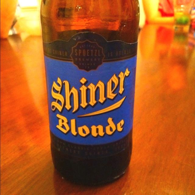 oh Shiner blonde