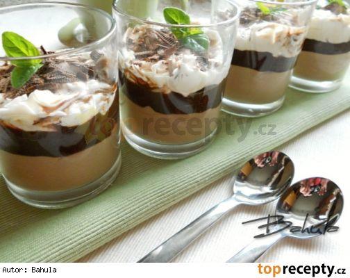 Čokoládový pohár s mascarpone
