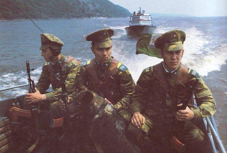 Soviets border guards