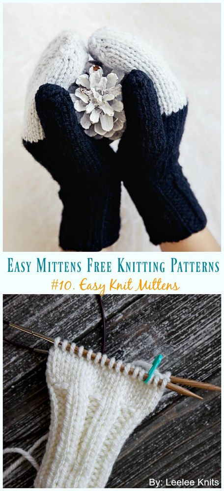 Craft A Pair Of These Practical Convertible Knitted Fingerless Gloves