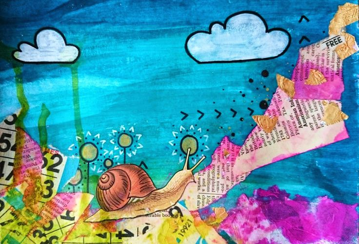Art journaling, June: obstacles | This Whole Soul