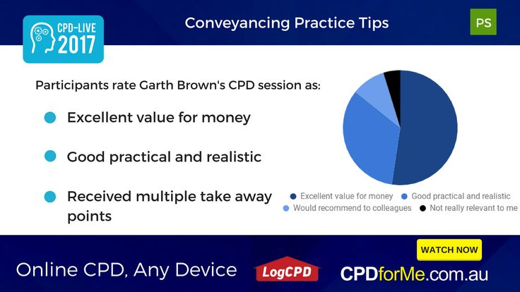 $66 - #Conveyancing Practice #Tips, Garth Brown, Brown and Brown Conveyancing 1 #CPD Unit #Online #AnyDevice #ProfessionalSkills - Learn about #PEXA, a #VirtualOffice and some pre-settlement and #Strata tips