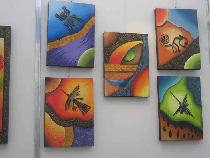 Creartealexas manualidades trupan pintura decorativa - Manualidades con cuadros ...
