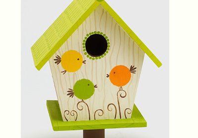 EZ paint birdhouse Echoes of Laughter: 20 FUN Activities For March Break