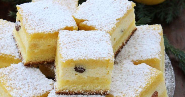 Prăjitura cu brânză dulce este o amintire a copilăriei pentru mulţi dintre noi şi, uneori, pentru a ne face o bucurie, ne dorim să regăsim acel gust grozav.