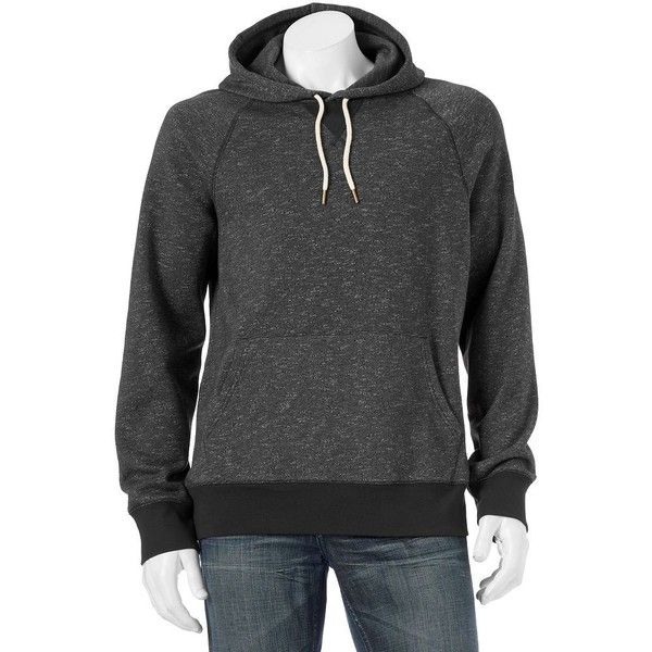 Big & Tall SONOMA Goods for Life™ Classic-Fit Fleece Hoodie ($32) ❤ liked on Polyvore featuring men's fashion, men's clothing, men's hoodies, black, cheetah print mens hoodie, mens fleece hoodies, mens tall hoodies, mens hoodie and mens sweatshirts and hoodies