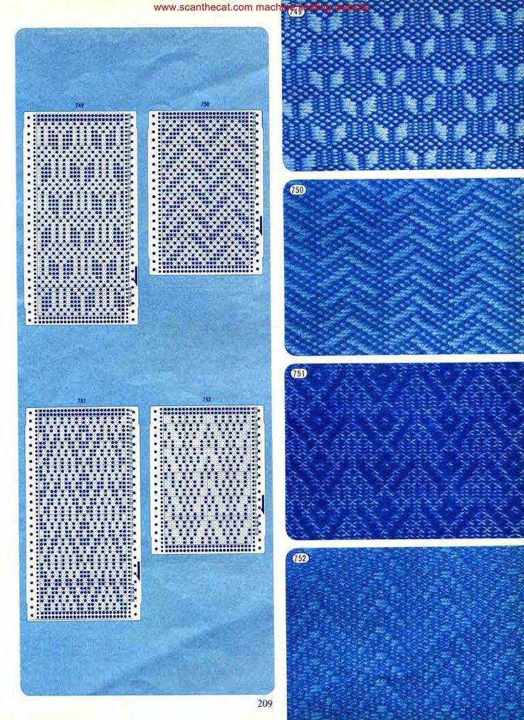220 best tarjetas perforadas images on Pinterest | Knitting ...